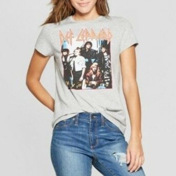 Junk Food Def Leppard Graphic Band Shirt